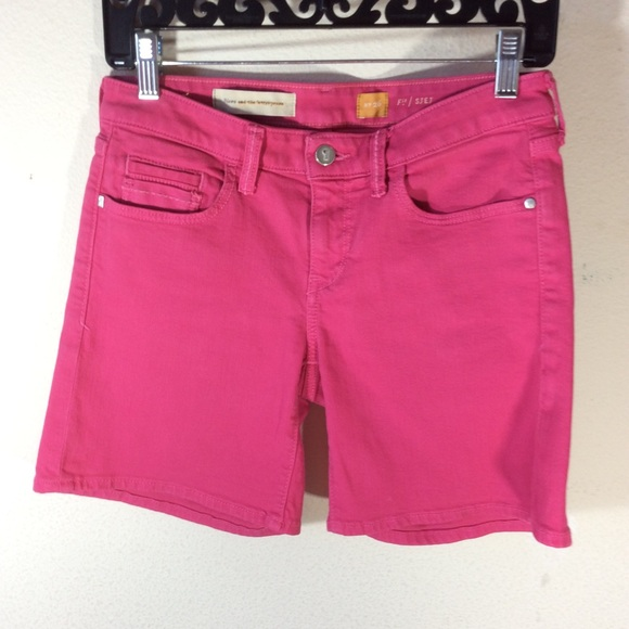 Anthropologie Pants - Anthropologie pilcro hot pink shorts Hot Pants!